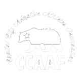 CCAAF Logo White